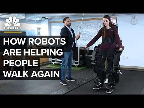 How Robots Can Help People With Disabilities Walk Again - CNBC Africa
