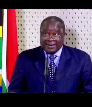 SA Finance Minister Tito Mboweni delivers his emergency budget