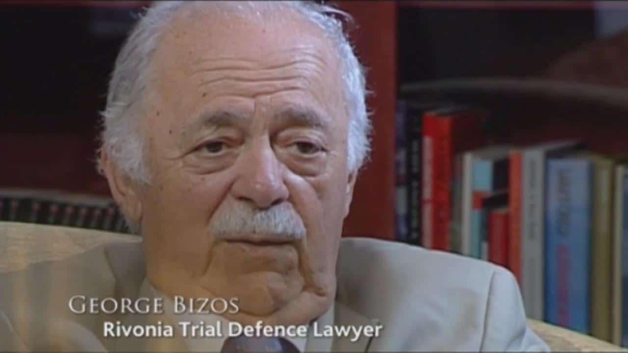 Human rights lawyer George Bizos dies at 92