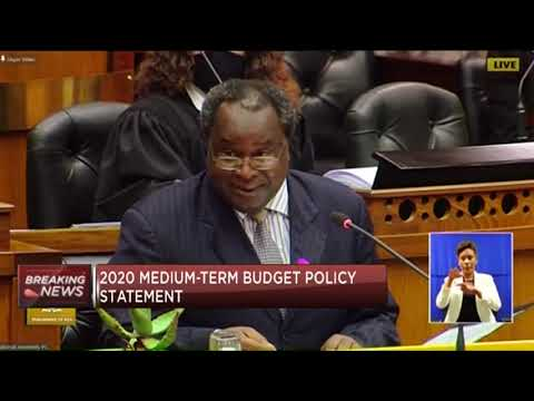SA finmin Mboweni delivers the 2020 #MTBPS (Full speech)