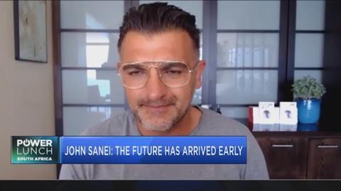Futurist John Sanei speaks on his new book