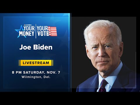 Watch live: President-elect Joe Biden addresses the nation — 11/7/2020