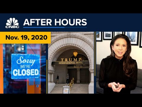 How Even Partial Lockdowns Could Further Hurt The U.S. Economy: CNBC After Hours