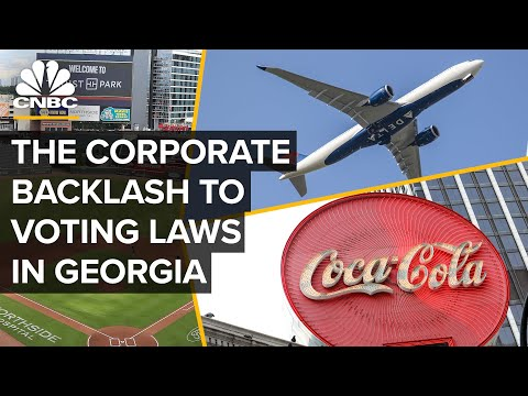 How Georgia's Controversial Voting Laws Sparked Major Corporate Backlash