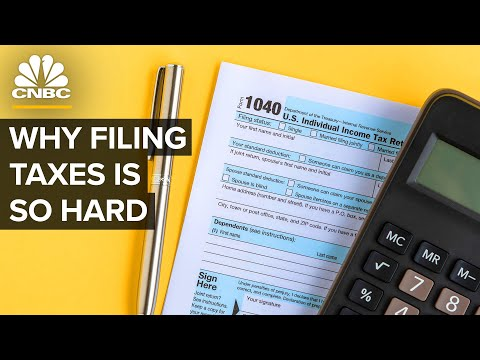 Why It's So Hard To File And Pay Taxes In The U.S.